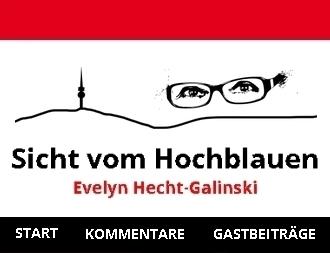 Eine starke kritische Stimme für Gerechtigkeit in Palästina: Evelyn Hecht-Galinski eine deutsche Publizistin mit jüdischen Wurzeln.